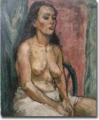 Nude by Shirley Russell